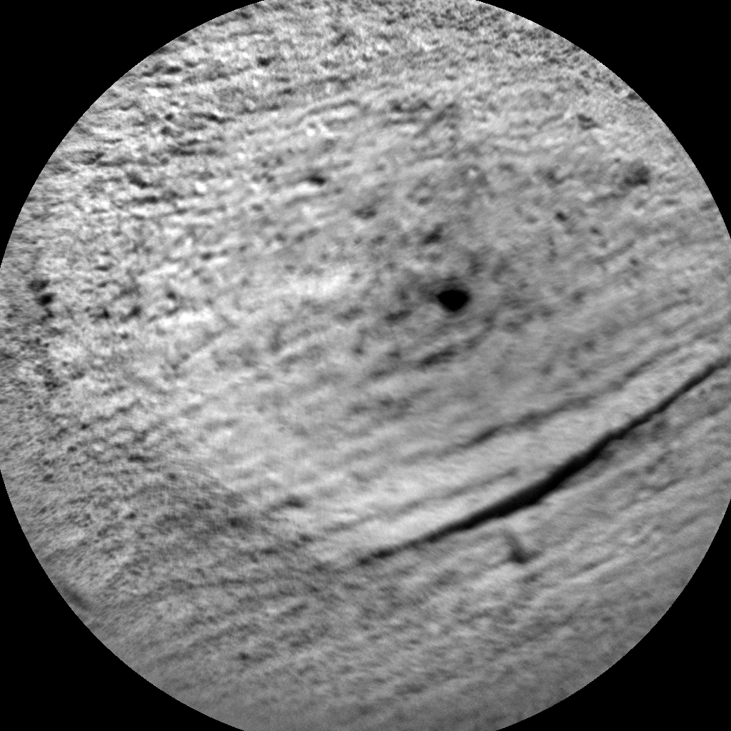Nasa's Mars rover Curiosity acquired this image using its Chemistry & Camera (ChemCam) on Sol 905, at drive 450, site number 45