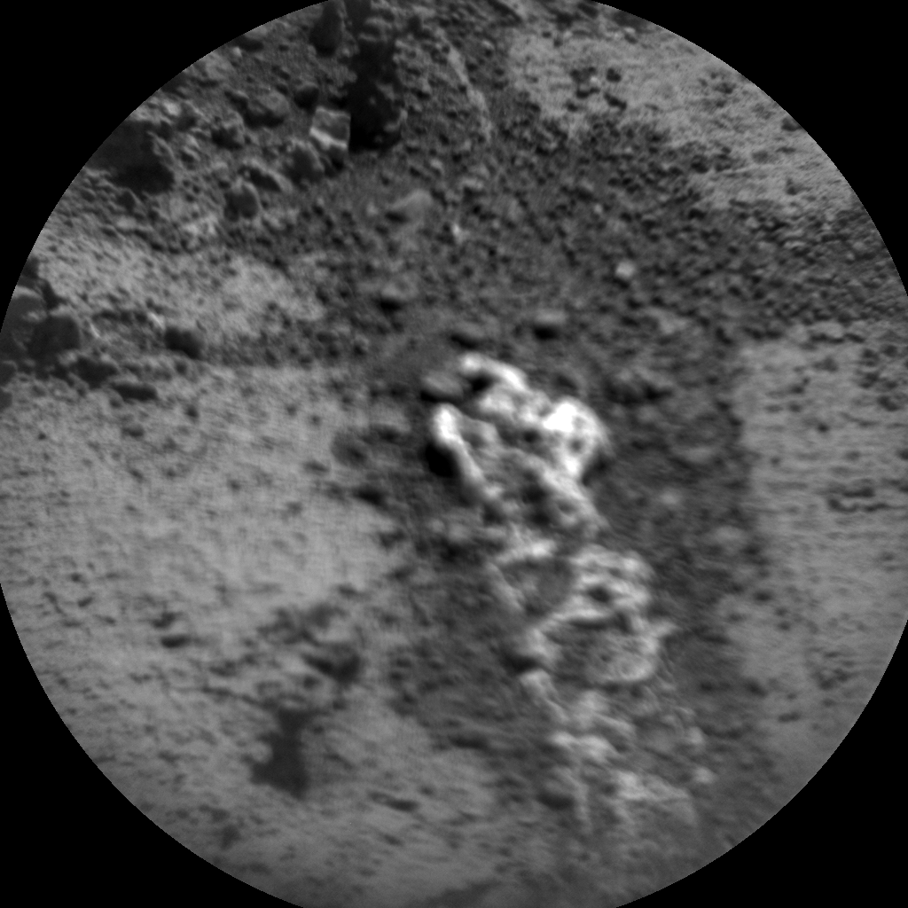 Nasa's Mars rover Curiosity acquired this image using its Chemistry & Camera (ChemCam) on Sol 906, at drive 450, site number 45