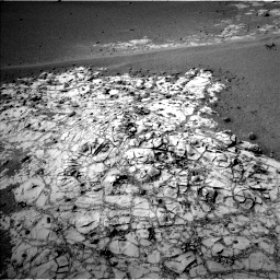 NASA's Mars rover Curiosity acquired this image using its Left Navigation Camera (Navcams) on Sol 908
