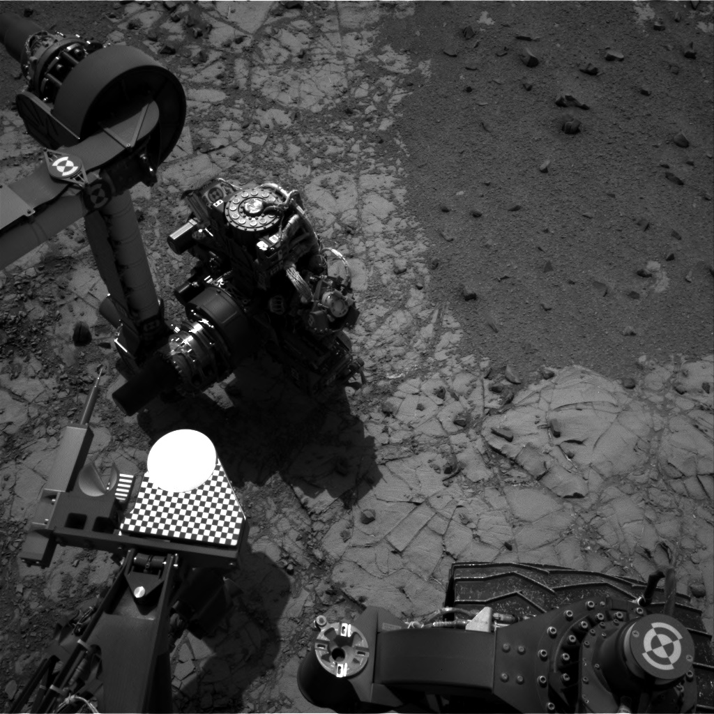 Nasa's Mars rover Curiosity acquired this image using its Right Navigation Camera on Sol 908, at drive 450, site number 45