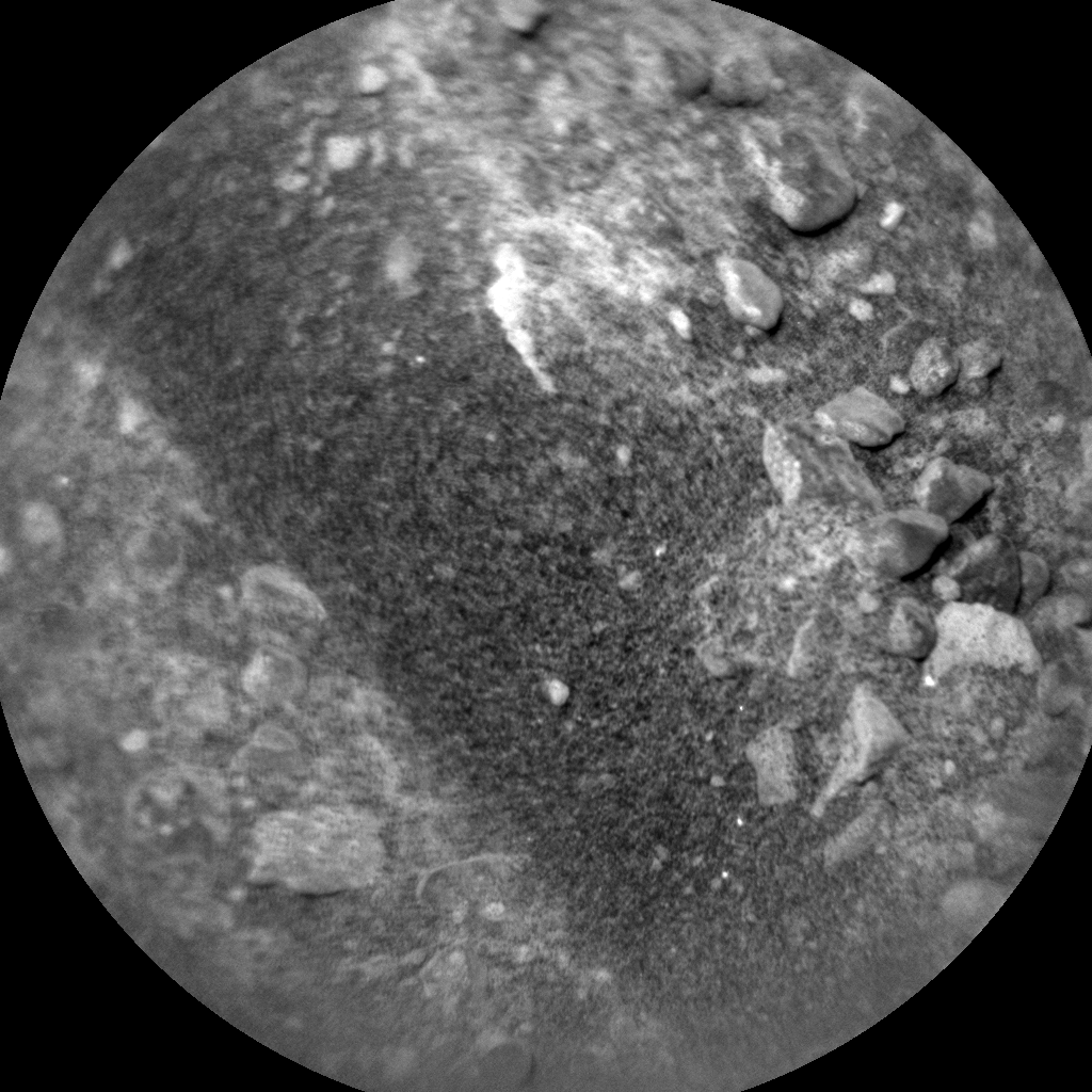 Nasa's Mars rover Curiosity acquired this image using its Chemistry & Camera (ChemCam) on Sol 910, at drive 450, site number 45