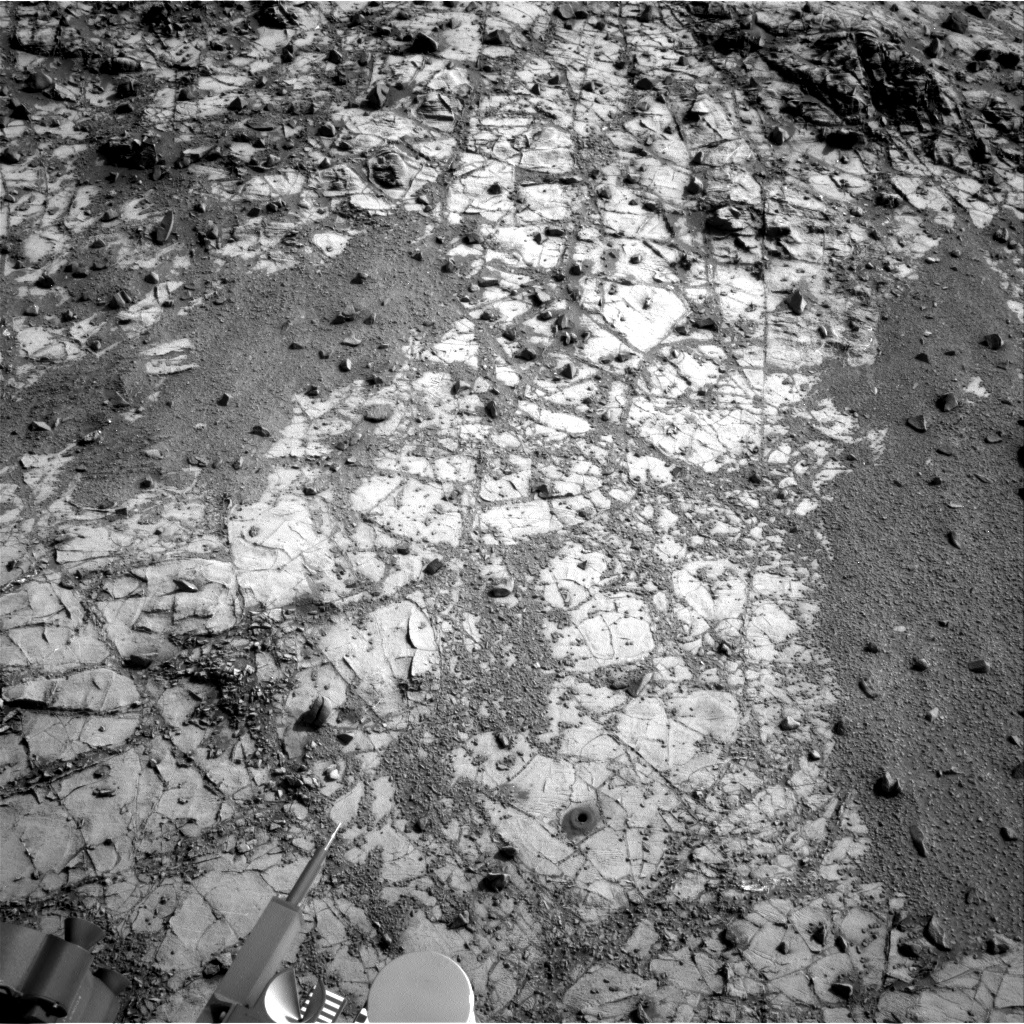 Nasa's Mars rover Curiosity acquired this image using its Right Navigation Camera on Sol 911, at drive 450, site number 45