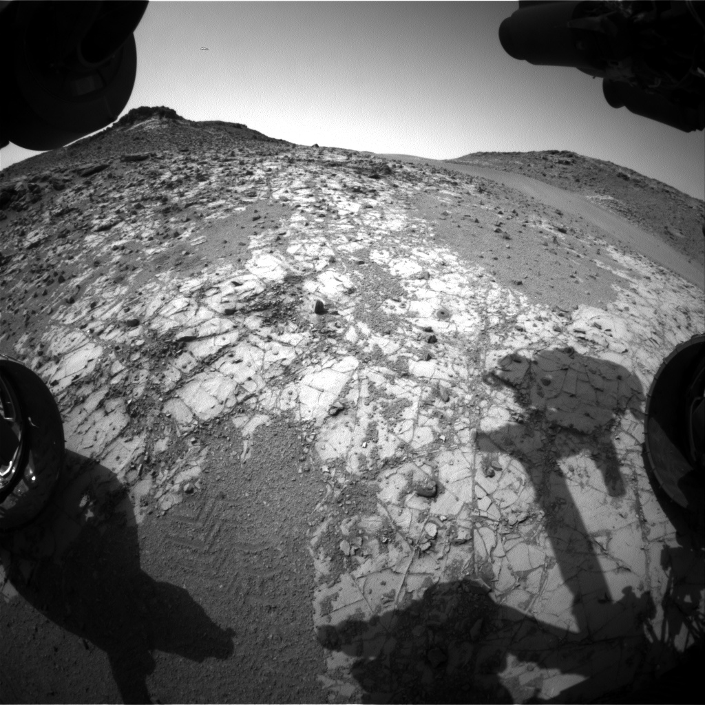 Nasa's Mars rover Curiosity acquired this image using its Front Hazard Avoidance Camera (Front Hazcam) on Sol 914, at drive 450, site number 45