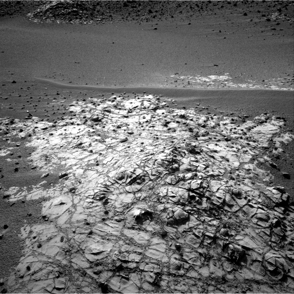 Nasa's Mars rover Curiosity acquired this image using its Right Navigation Camera on Sol 916, at drive 450, site number 45
