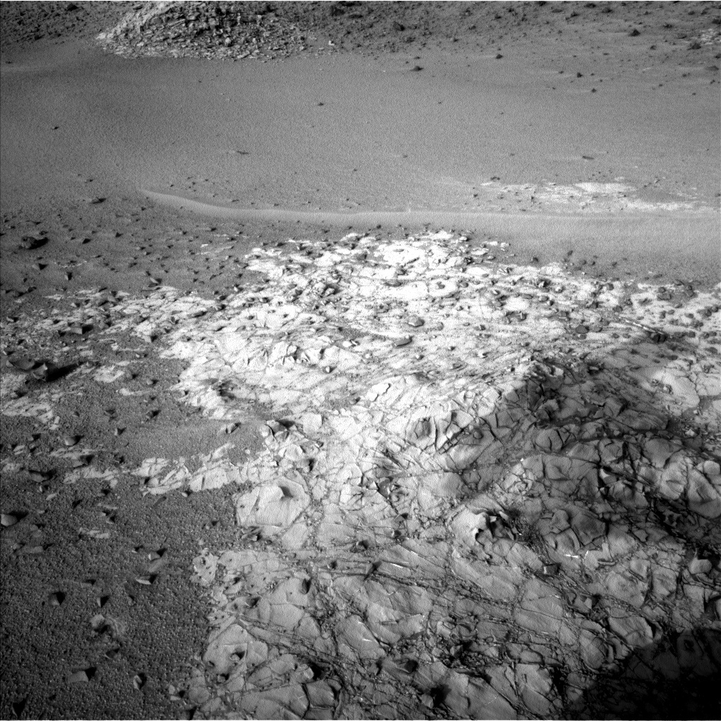 NASA's Mars rover Curiosity acquired this image using its Left Navigation Camera (Navcams) on Sol 917