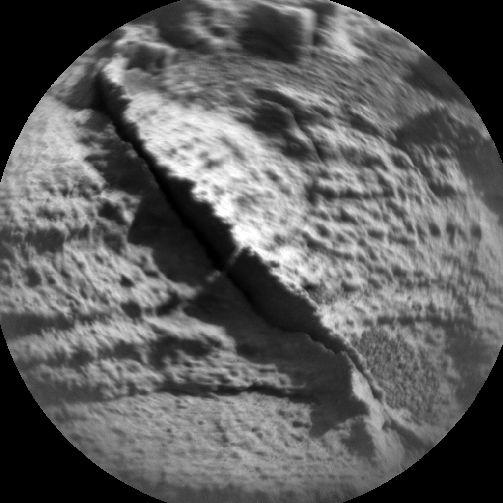 Nasa's Mars rover Curiosity acquired this image using its Chemistry & Camera (ChemCam) on Sol 918, at drive 450, site number 45