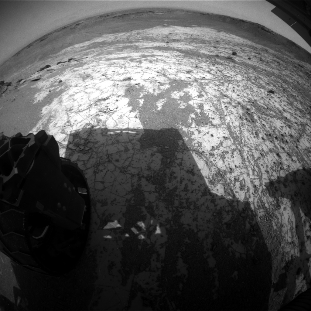 NASA's Mars rover Curiosity acquired this image using its Rear Hazard Avoidance Cameras (Rear Hazcams) on Sol 920
