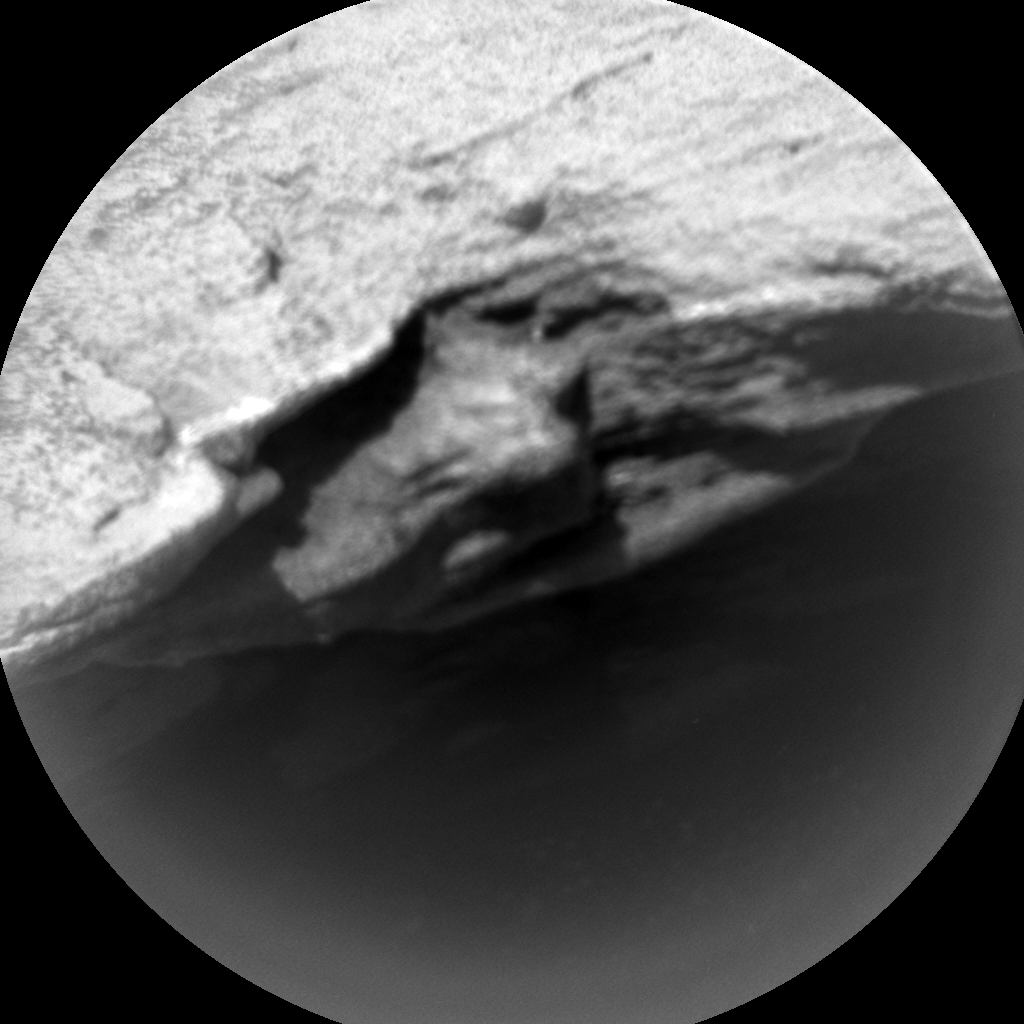 Nasa's Mars rover Curiosity acquired this image using its Chemistry & Camera (ChemCam) on Sol 922, at drive 450, site number 45