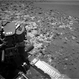 Nasa's Mars rover Curiosity acquired this image using its Left Navigation Camera on Sol 923, at drive 492, site number 45