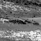 Nasa's Mars rover Curiosity acquired this image using its Left Navigation Camera on Sol 923, at drive 534, site number 45