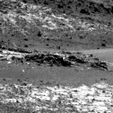 Nasa's Mars rover Curiosity acquired this image using its Right Navigation Camera on Sol 923, at drive 534, site number 45