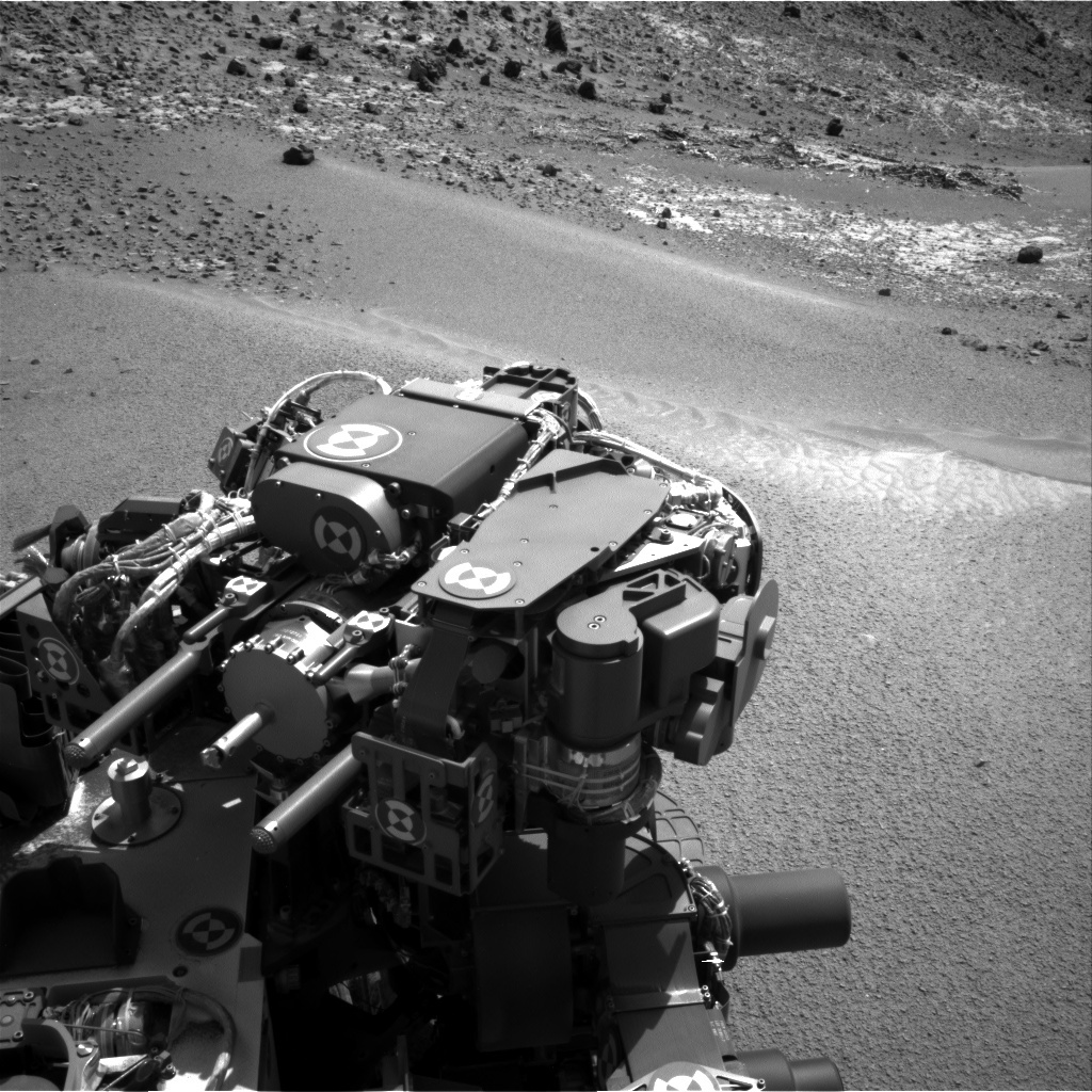NASA's Mars rover Curiosity acquired this image using its Right Navigation Cameras (Navcams) on Sol 923