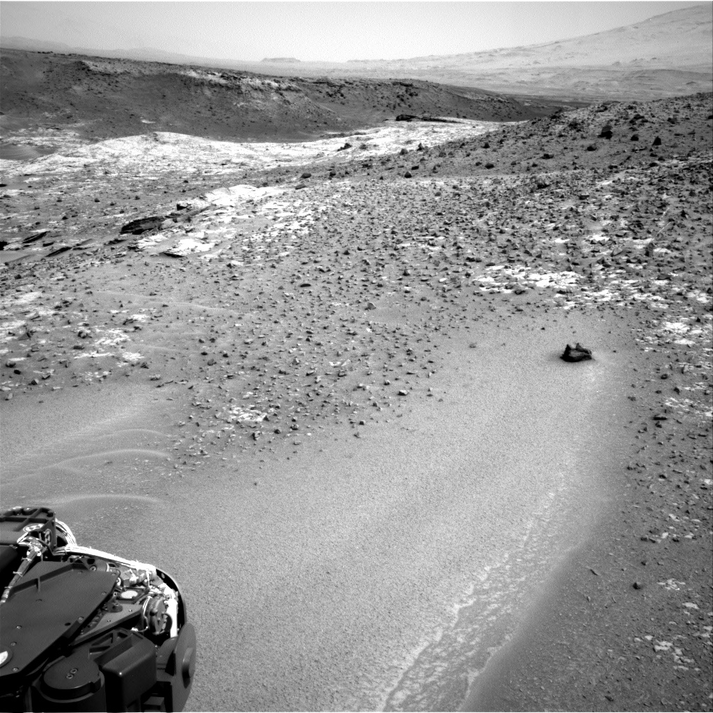 Nasa's Mars rover Curiosity acquired this image using its Right Navigation Camera on Sol 924, at drive 774, site number 45