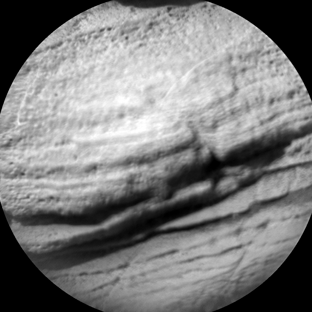 Nasa's Mars rover Curiosity acquired this image using its Chemistry & Camera (ChemCam) on Sol 924, at drive 558, site number 45