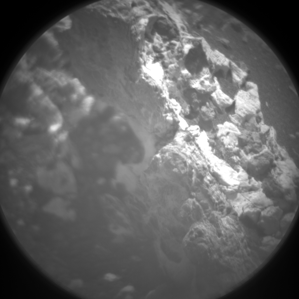 Nasa's Mars rover Curiosity acquired this image using its Chemistry & Camera (ChemCam) on Sol 925, at drive 774, site number 45