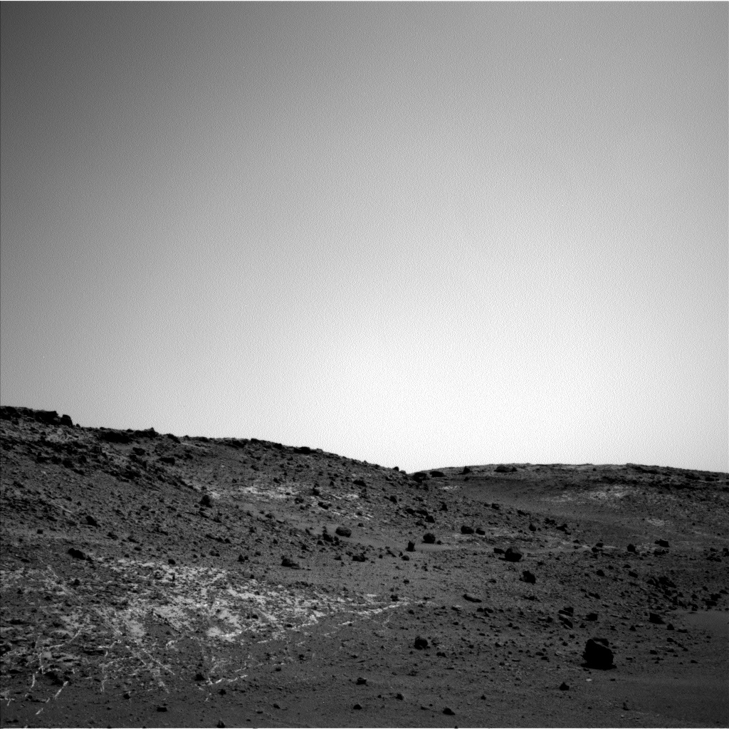 Nasa's Mars rover Curiosity acquired this image using its Left Navigation Camera on Sol 926, at drive 852, site number 45