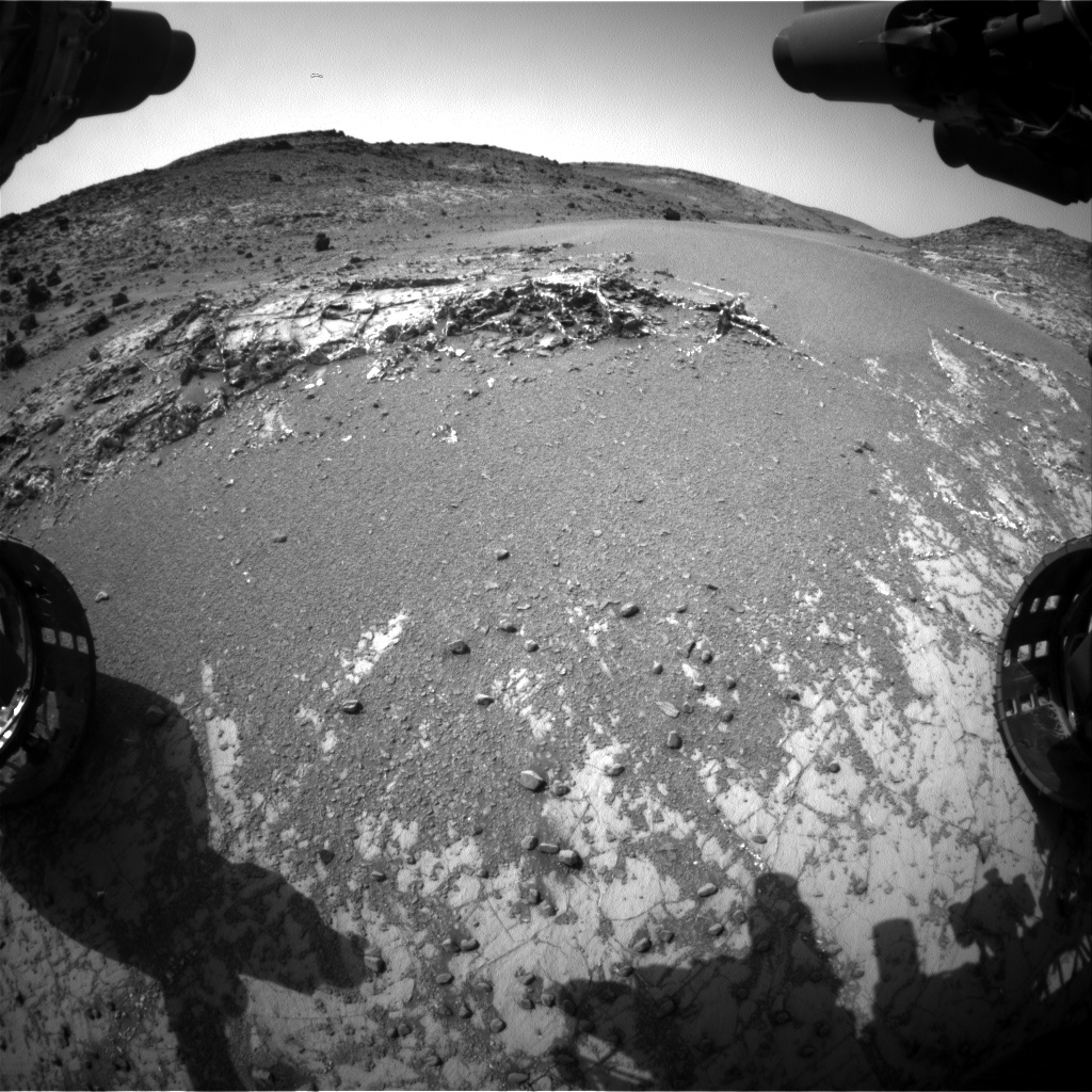 Nasa's Mars rover Curiosity acquired this image using its Front Hazard Avoidance Camera (Front Hazcam) on Sol 927, at drive 852, site number 45