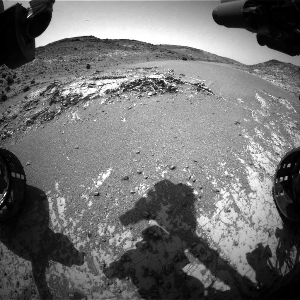 Nasa's Mars rover Curiosity acquired this image using its Front Hazard Avoidance Camera (Front Hazcam) on Sol 929, at drive 852, site number 45