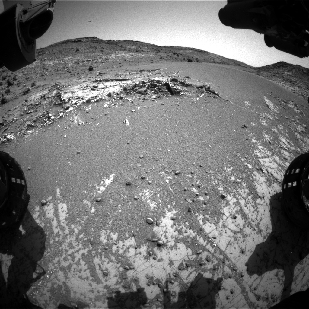 Nasa's Mars rover Curiosity acquired this image using its Front Hazard Avoidance Camera (Front Hazcam) on Sol 930, at drive 852, site number 45