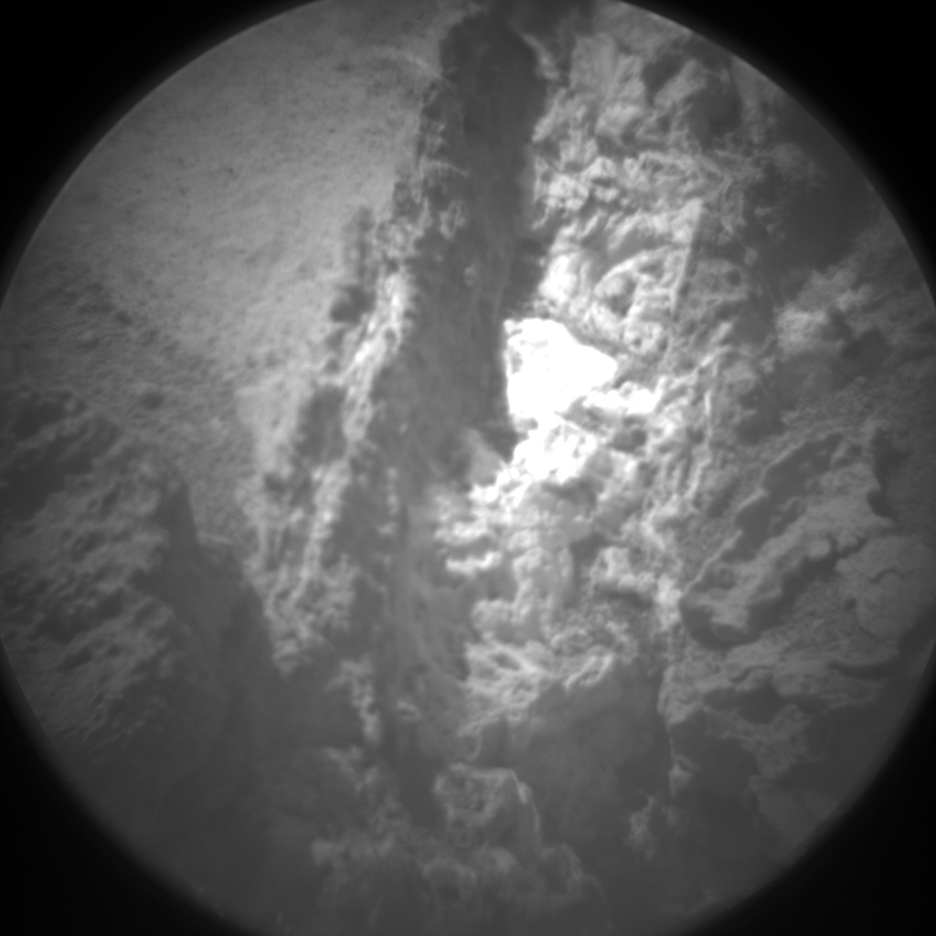Nasa's Mars rover Curiosity acquired this image using its Chemistry & Camera (ChemCam) on Sol 935, at drive 852, site number 45