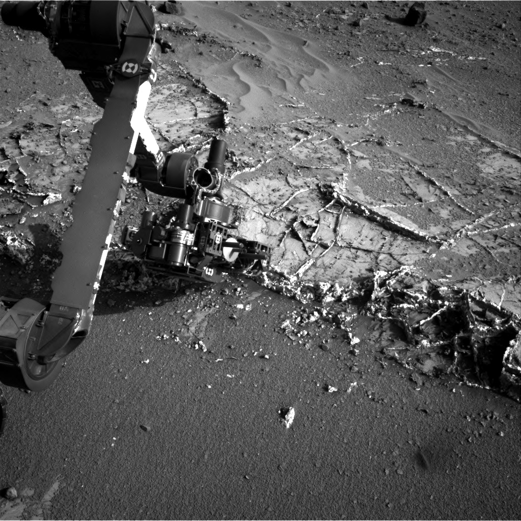 Nasa's Mars rover Curiosity acquired this image using its Right Navigation Camera on Sol 935, at drive 852, site number 45
