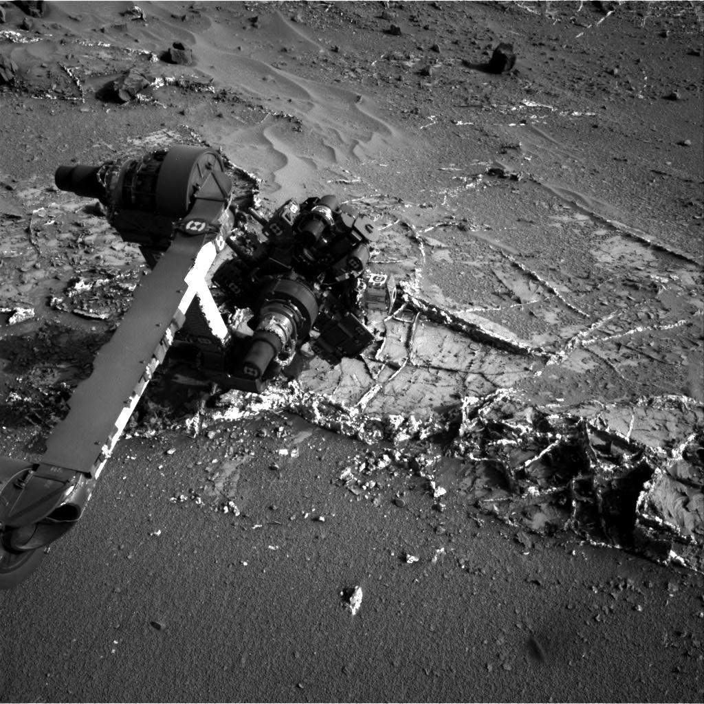 Nasa's Mars rover Curiosity acquired this image using its Right Navigation Camera on Sol 936, at drive 852, site number 45