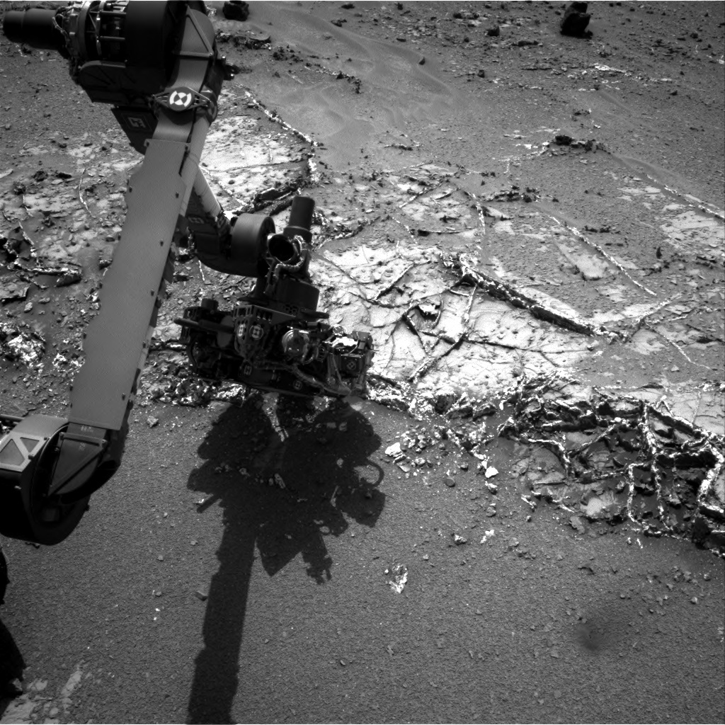 NASA's Mars rover Curiosity acquired this image using its Right Navigation Cameras (Navcams) on Sol 938