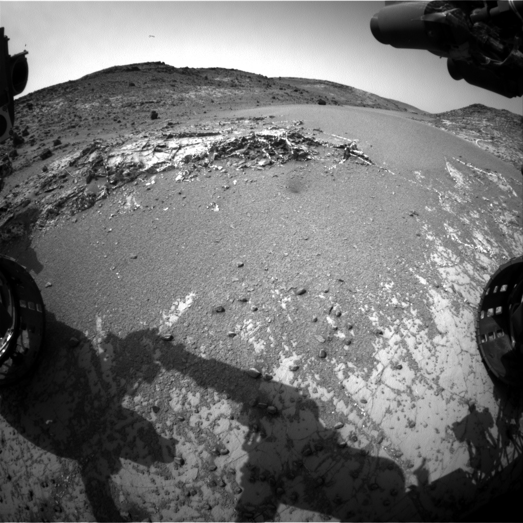 Nasa's Mars rover Curiosity acquired this image using its Front Hazard Avoidance Camera (Front Hazcam) on Sol 939, at drive 852, site number 45