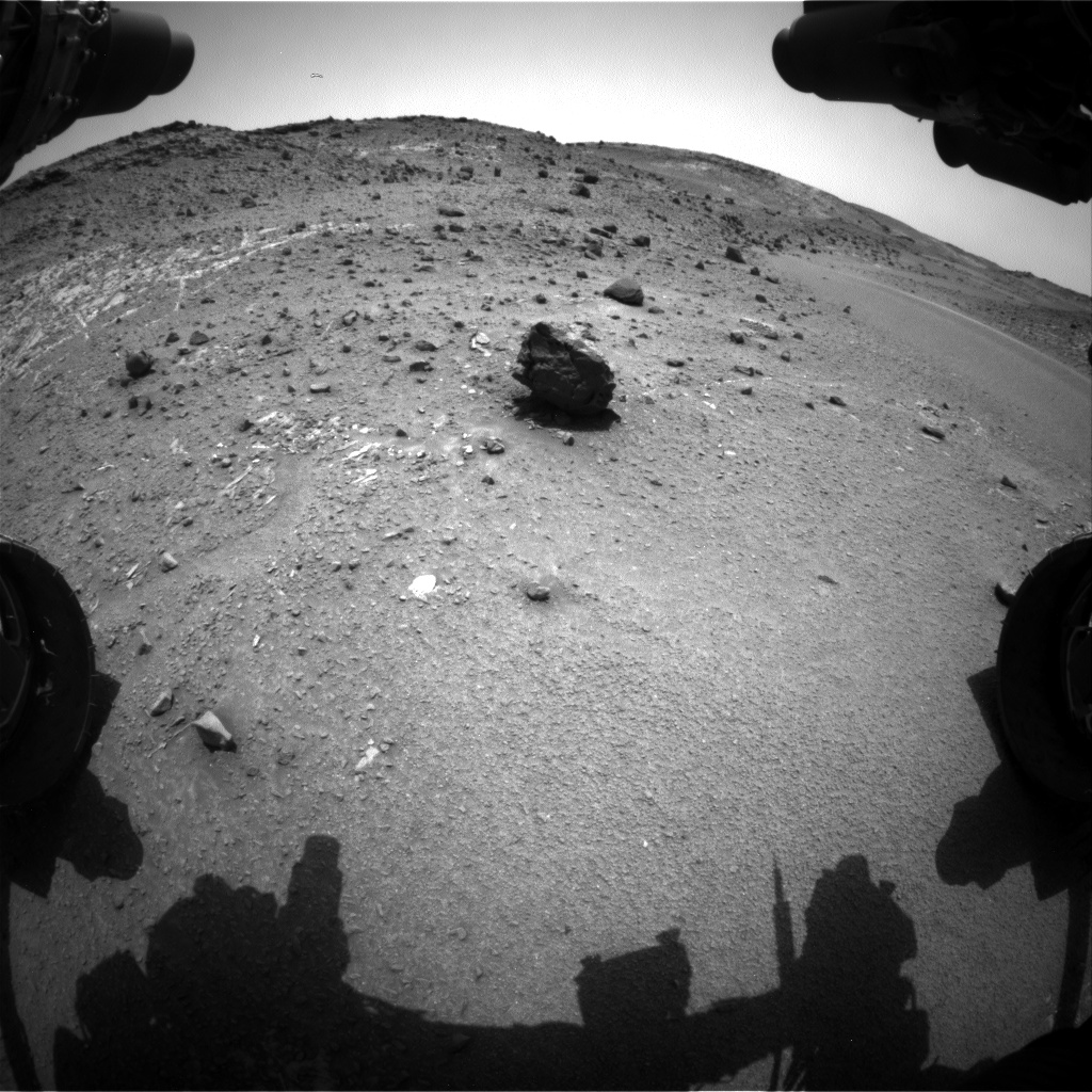 Nasa's Mars rover Curiosity acquired this image using its Front Hazard Avoidance Camera (Front Hazcam) on Sol 941, at drive 996, site number 45