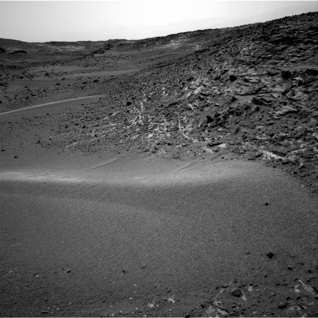 Nasa's Mars rover Curiosity acquired this image using its Right Navigation Camera on Sol 942, at drive 996, site number 45