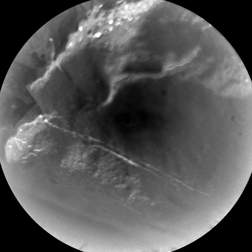 Nasa's Mars rover Curiosity acquired this image using its Chemistry & Camera (ChemCam) on Sol 942, at drive 996, site number 45