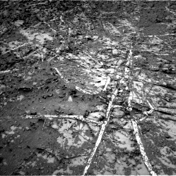 Nasa's Mars rover Curiosity acquired this image using its Left Navigation Camera on Sol 944, at drive 1020, site number 45