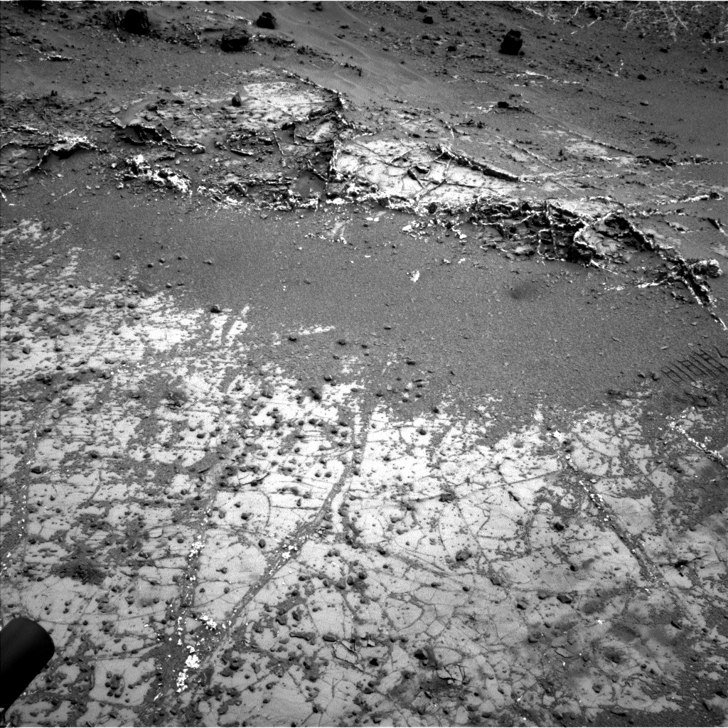 Nasa's Mars rover Curiosity acquired this image using its Left Navigation Camera on Sol 944, at drive 1086, site number 45
