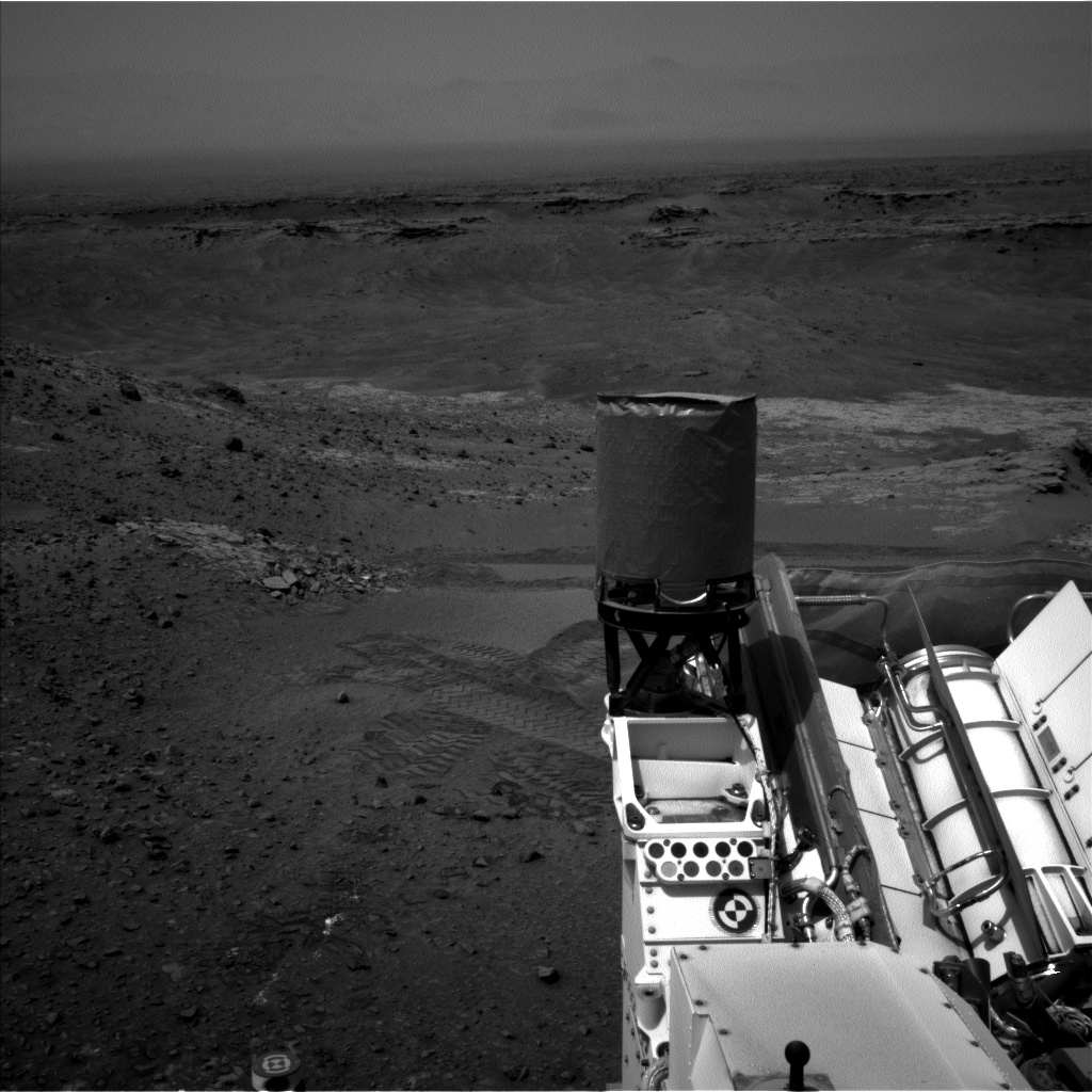 Nasa's Mars rover Curiosity acquired this image using its Left Navigation Camera on Sol 944, at drive 1108, site number 45