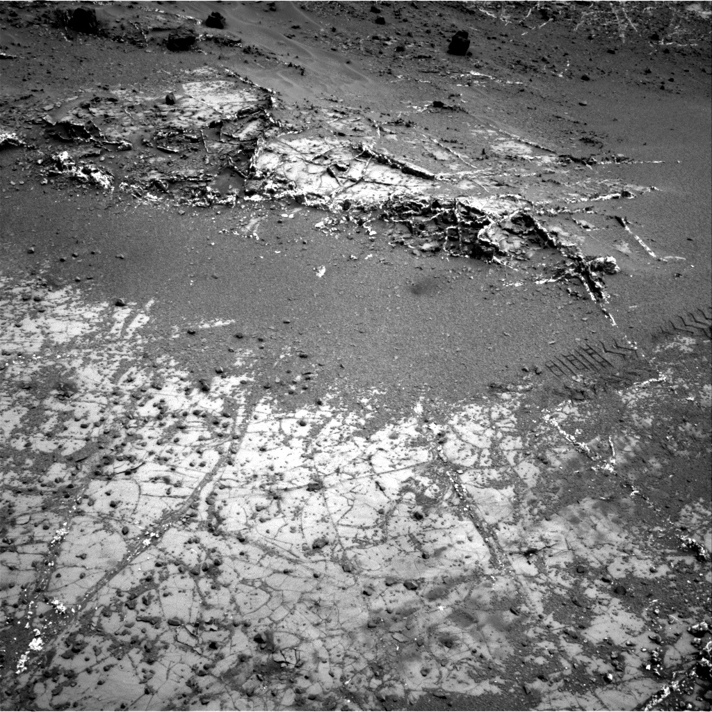 Nasa's Mars rover Curiosity acquired this image using its Right Navigation Camera on Sol 944, at drive 1086, site number 45