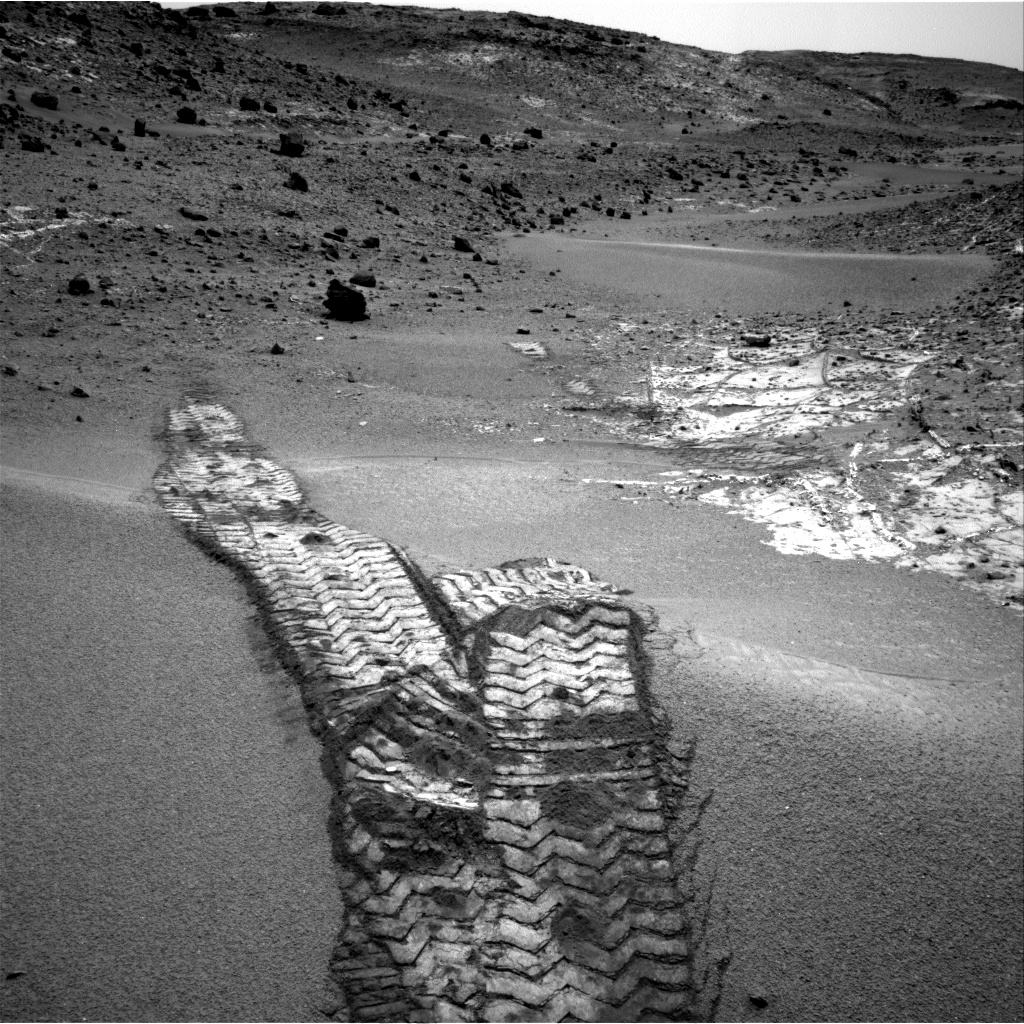 Nasa's Mars rover Curiosity acquired this image using its Right Navigation Camera on Sol 944, at drive 1108, site number 45