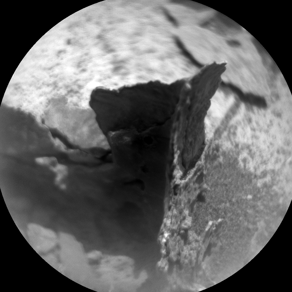 Nasa's Mars rover Curiosity acquired this image using its Chemistry & Camera (ChemCam) on Sol 946, at drive 1108, site number 45