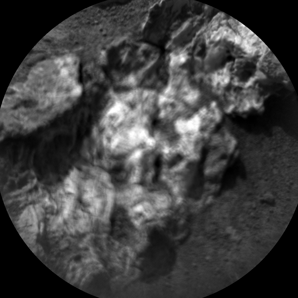Nasa's Mars rover Curiosity acquired this image using its Chemistry & Camera (ChemCam) on Sol 947, at drive 1108, site number 45