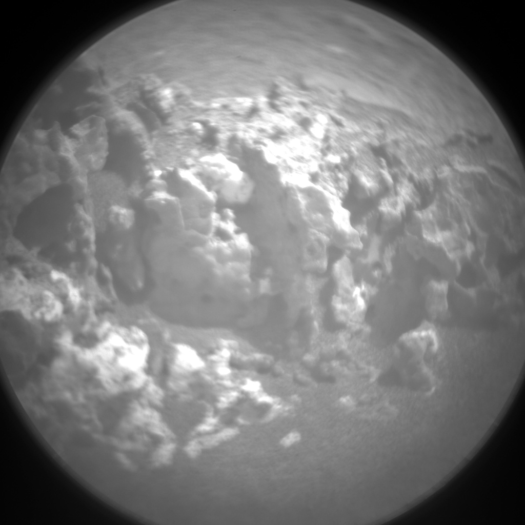 Nasa's Mars rover Curiosity acquired this image using its Chemistry & Camera (ChemCam) on Sol 948, at drive 1108, site number 45