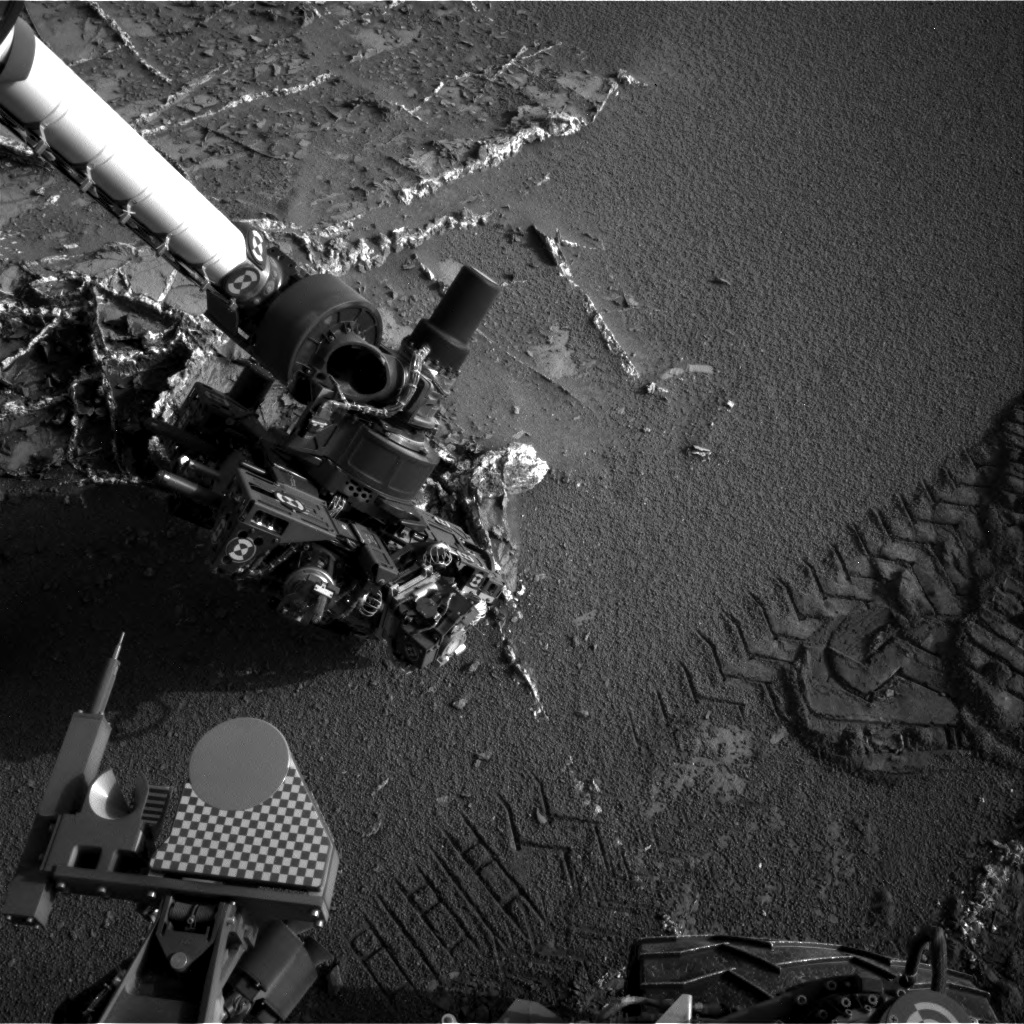 Nasa's Mars rover Curiosity acquired this image using its Right Navigation Camera on Sol 948, at drive 1108, site number 45