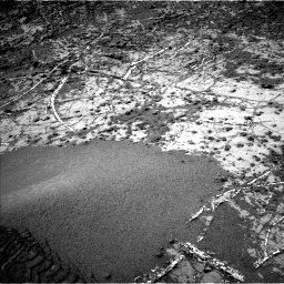 Nasa's Mars rover Curiosity acquired this image using its Left Navigation Camera on Sol 949, at drive 1144, site number 45