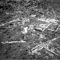Nasa's Mars rover Curiosity acquired this image using its Left Navigation Camera on Sol 949, at drive 1228, site number 45
