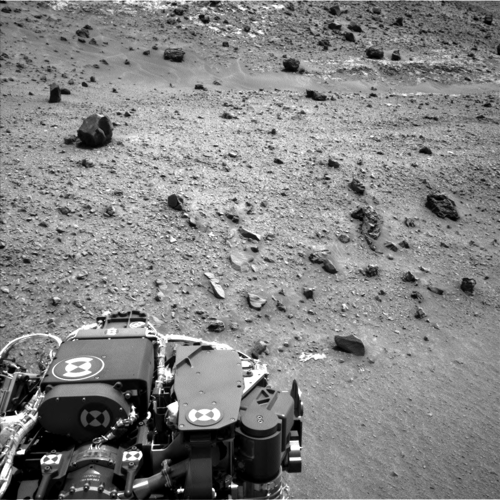 Nasa's Mars rover Curiosity acquired this image using its Left Navigation Camera on Sol 949, at drive 1276, site number 45