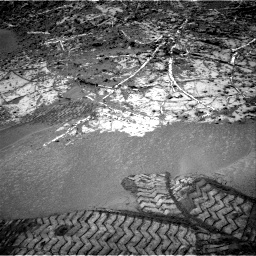 Nasa's Mars rover Curiosity acquired this image using its Right Navigation Camera on Sol 949, at drive 1126, site number 45