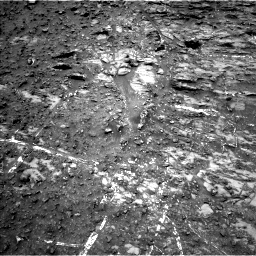Nasa's Mars rover Curiosity acquired this image using its Left Navigation Camera on Sol 950, at drive 1282, site number 45