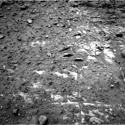 Nasa's Mars rover Curiosity acquired this image using its Left Navigation Camera on Sol 950, at drive 1300, site number 45