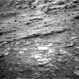 Nasa's Mars rover Curiosity acquired this image using its Left Navigation Camera on Sol 950, at drive 1336, site number 45