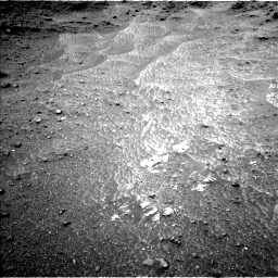 Nasa's Mars rover Curiosity acquired this image using its Left Navigation Camera on Sol 950, at drive 1378, site number 45