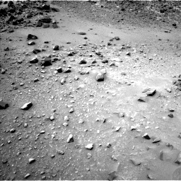 Nasa's Mars rover Curiosity acquired this image using its Left Navigation Camera on Sol 950, at drive 1534, site number 45