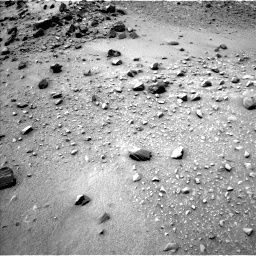 Nasa's Mars rover Curiosity acquired this image using its Left Navigation Camera on Sol 950, at drive 1546, site number 45